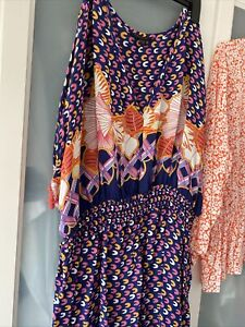 Anna Scholz For Simply Be Size 20 Dress Brand New