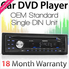 Single 1 DIN Car DVD Player Head Unit Player Stereo Radio USB AVI MP3 MP4 OEM OZ