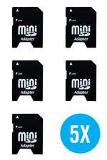 5 X MINI SD per scheda SD standard Adattatore Convertitore Video Adaptateur