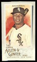 2020 Topps Allen and Ginter A&G Back Mini #103 Tim Anderson - Chicago White Sox