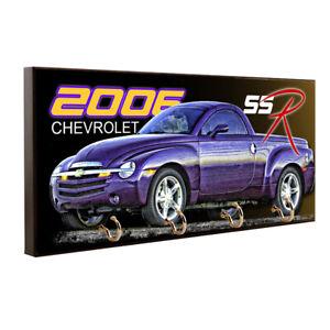 2006 Chevrolet SSR Purple Pick Up Truck Key Hanger / Pet Leash Hanger