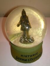 Americana Souvenirs Historic Jamestowne 1607 Snow Globe Ornament