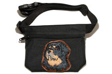 Embroidered Dog treat bag - for dog shows. Breed - Tibetan Mastiff