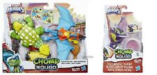 NEW ~ PLAYSKOOL HEROES ~ CHOMP SQUAD CONSTRUCTION CREW + WINGTIP ~ Dinosaurs