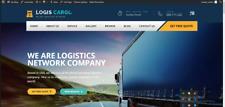 Logistics & Transportation Services Responsive Business Website