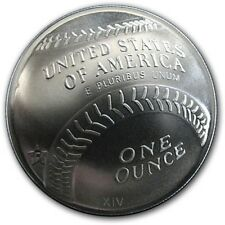 SILVER BASEBALL CURVED  ROUND/MEDAL- 1 OUNCE- .DESIGN 999 SILVER-.FINE SILVER-