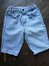 Vintage Girls Shorts. Mothercare 110cm  White Denim 1990s Excellent Condition.