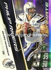 Adrenalyn XL NFL - Philip Rivers  Chargers #26 Ultimate