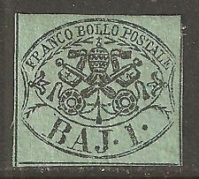 1205 - STATO PONTIFICIO - Sassone # 2A - nuovo gommato linguellato -1.a scelta