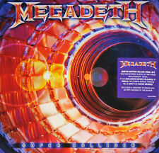 "MEGADETH - SUPER COLLIDER, ORG 2013 DELUXE EDITION LP + COLOURED 7"", SEALED!"