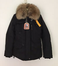 Parajumpers Jacket Denali Masterpiece Women's Black Size Small S NEW DOWN Parka