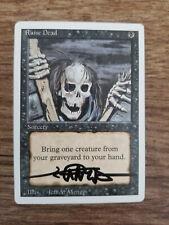 Raide Dead Revised Edition SIGNED by Jeff Menges Set Magic MTG