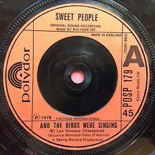 Gente Dulce-y las aves estaban cantando/Perce-Polydor Posp - 179 ex