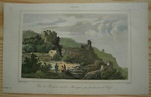 1847 print BULGOSA, COFFEE PRODUCING MOUNTAINS, YEMEN (#37)