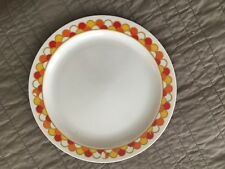 Georges Briard Boutique Mid Century Modern Vintage Scale Ptn 10in Dinner Plate