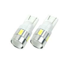 10 x T10 W5W 5630 6 SMD Car LED Wedge  Light Bulb Lamp 168 192 158 White DC 12V
