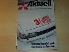44258) Mitsubishi Colt + Galant aktuell Prospekt 198?