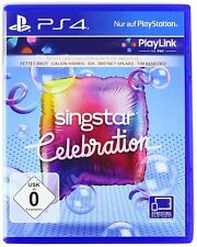 PS4 Spiel SingStar Celebration PS4 Play Link Karaokespiel NEU