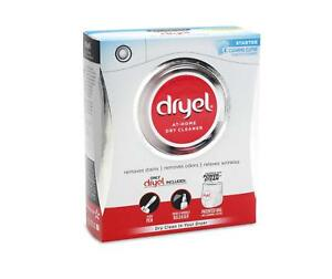 Dryel Dry Cleaning Laundry Detergent Starter Kit with Stain Pen & Wrinkle Spray