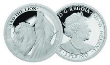 2020 1 oz .999 Silver St. Helena 1 oz Una and Lion Proof- 750 Mintage!