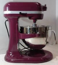 NEW KitchenAid 4KP26M1XBY 600 Series 6-Qt Bowl-Lift Stand Mixer Boysenberry $680