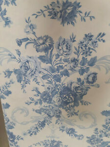 Ralph Lauren Blue & White Queen Sheets-Deep Pockets-Washed Twice