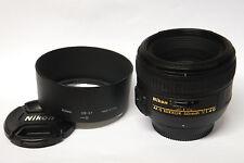 Nikon AF-S Nikkor 1,4/50 mm G objetivamente usado en OVP