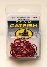 TEAM CATFISH Double Action Circle Size 5/0 Value Pack 14 Hooks TC84VP