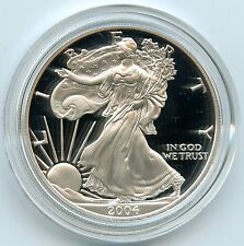 2004 American Eagle Silver Dollar PROOF Coin - 1 oz - United States Mint - AD934
