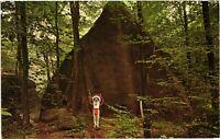 Vintage Postcard - Tepee Rock At Rock City Park Rt 16 New York NY #4907