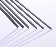 Kohlefaser Vierkantstab Platte (1-6)*(2-19)*500mm Werkzeug für RC Flugzeug Pole