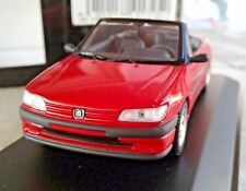 1/43 MINICHAMPS  rare Peugeot 306,cabrio, 1995,  2door, red,   Min. 430112502