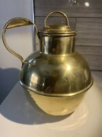 Brass Jug or Pitcher with Lid