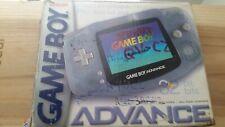 Nintendo Game Boy Advance GBA Glacier BOX only Original USA (No Game Boy)