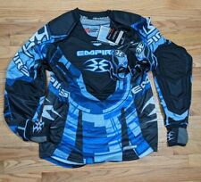 New Empire Prevail Paintball Jersey LTD - Blue, size Medium with gloves
