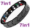 7in1 TITANIUM strong Magnetic Energy  Armband Power Bracelet Bio GERMANIUM 98746