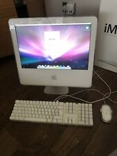 Apple IMAC G5 17 Inch, 1.8 GHz, 512MB RAM, 160GB HDD
