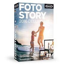 Magix fotostory 2016 Deluxe PC NUEVO + emb.orig