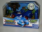 COOL!! SONIC THE HEDGEHOG RC RADIO CONTROL TRANSFORMED CAR WITH LIGHTS NEW!!
