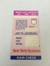 Oscar Gamble HR #139 Home Run April 19 1980 4/19/80 Yankees Brewers Ticket Stub