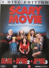 SCARY MOVIE - THE COMPLETE COLLECTION  -  BOXSET 3 DVD
