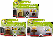 World of Nintendo MICRO LAND 1-3 ZELDA WINDWAKER PLAYSETS HYRULE OCEAN ISLAND