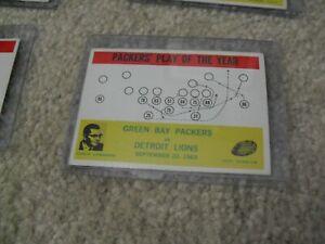 Vintage 1964 Philadelphia Football Packers POY Lombardi Card #84