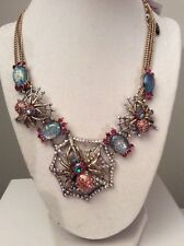 Betsey Johnson Spider Lux Collection Statement Necklace $125 BSS14