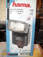 Hama-Zoom-Blitz  AF 28 TTL 60190 f./p. Canon