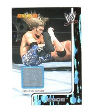 WWE Edge 2002 Fleer Royal Rumble Event Used Ring Mat Relic Card WWF DWC