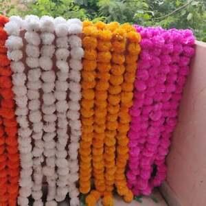 Strip Lot In designs Fresh Like Real Look Flower Strings Floral Garla