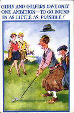 Golf Comic # 4306. Girls & Golfers Have Only One Ambition...