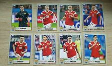 Panini WM 2018 MCDonalds Russland komplett M1 - M8 World Cup 18 alle 8 Sticker