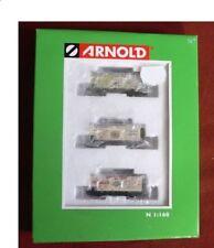 Carri merci Arnold per modellismo ferroviario scala N
